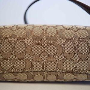 COACH Bags - COACH Dufflette in Signature Khaki/Brown